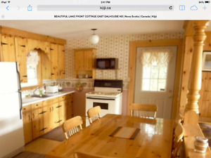 Beautiful Lake Front Cottage Lake Torment East Dalhousie NS