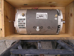 ADVANCED FB1-4001A DC MOTOR, ADAPTER PLATE AND MOUNT Windsor Region Ontario image 1