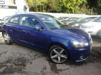 2011 60 AUDI A1 1.4 TFSI SPORT 3D 122 BHP 5-ARM DESIGN BI-COLOUR ALLOY WHEELS
