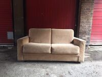 """Solid fabric immaculate """"sofa bed"""" •free delivery•"""