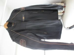 Harley Davidson 110th anniversary motorcycle riding jacket