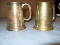 Indian sub-continent Brass Tankards