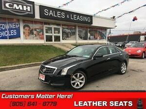 2013 Cadillac ATS 2.5   LEATHER  HEATED SEATS   ROOF BLUETOOTH
