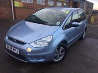 Ford S-MAX 2.0TDCi ( 140ps ) 2006 56 Zetec Manual 7 Seater 99k Miles