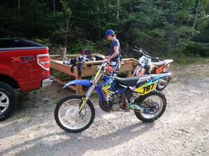 Yamaha yz 250 2009 o hours on motor if ad is up still for sale