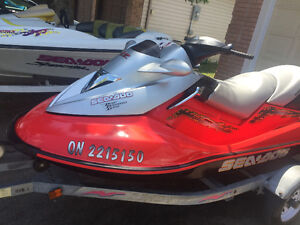 2004 Seadoo GTX supercharged with trailer