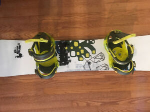 Burton Operator 158 board and boots