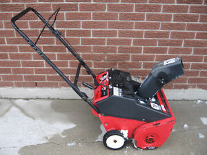 "SNOWBLOWER MTD 3 HP 21"" 2 STROKE MOTOR"
