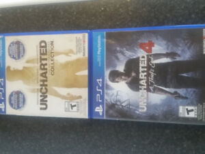 Complete Uncharted Series( 1-4) for PS4