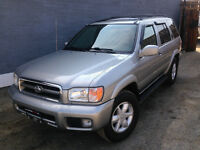 2001 Nissan Pathfinder LE 15th Anniversary Edition