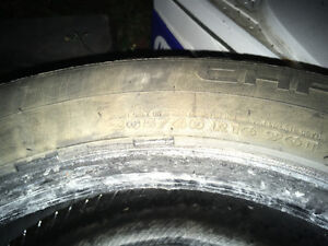3 Winter Tires only used 1 Season