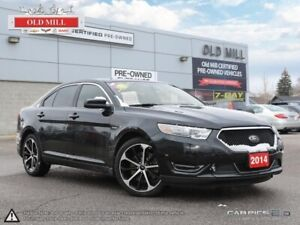 2014 Ford Taurus Accident Free, SHO, All-Wheel Drive, Leather an