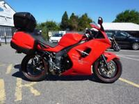Triumph Sprint ST1050 Red 08/08 14214 miles Full Luggage.