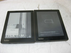Lot of 2x KOBO N514 WiFi E-Book Reader - Screen Issue - AS IS +#