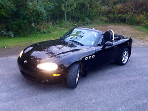 2002 Mazda MX-5 Miata Alain Coupe (2 door)