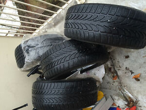 BMW 330xi winter tires $375