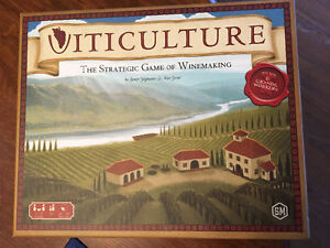 Viticulture game. Strategic game of winemaking