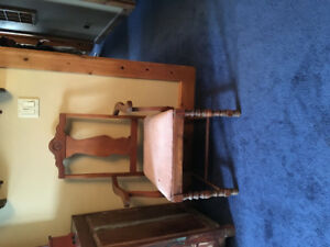 Antique chair for sale.