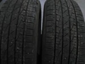 Two 225/60/17 SNOW Tires