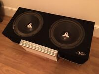 Subwoofers, Amp and Cabinet