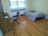 Huge room for August Downtown (1 min walking from McGill Uni.)