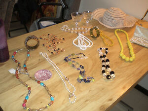 Misc. jewelry and art glassware-- All for $260