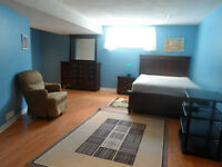 Furnished Basement for Rent at Tuscany, Utilities, Cable, and In