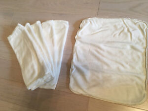 6 Applecheeks 2-ply Bamboo Inserts for Cloth Diapers