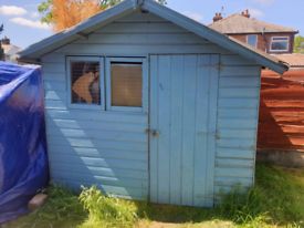 Wooden Garden Shed from B&Q - BARGAIN, No Offers.