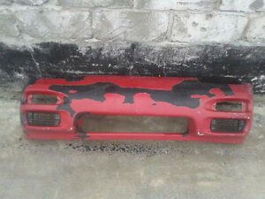 Used factory front bumper from a 1989-94 Nissan 240sx