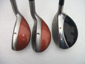"LEFT HAND HYBRID CLUBS .TOUR PLUS  16' and 24 "" loft ."