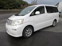 Toyota Alphard 2 Berth Camper, Day Van with Rear Conversion, Stunning Example