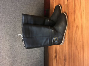 Girls fall boots- Black pair and Brown pairs