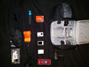 Selling a GoPro Hero 2 w/a lot of accessories! St. John's Newfoundland image 1