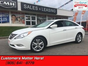 2013 Hyundai Sonata Limited  LEATHER, ROOF, HS, POWER SEATS, BT