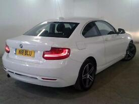 2014 BMW 2 SERIES 218d Sport 2dr Coupe