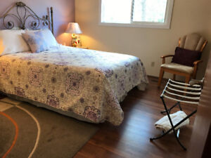 Queen Bed and Breakfast in Saskatoon-Available All Year Round