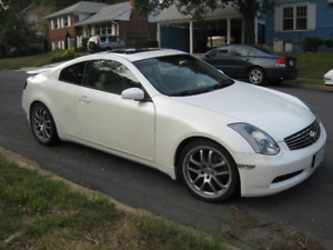2005 Infiniti g35 6spd manual coupe