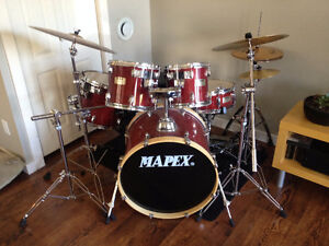 Mapex Drum Set With Mutes