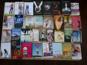 Books! 34 teen or young adult books