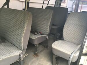 Hiace seats out of a 14 seater commuter van Seven Hills Blacktown Area Preview