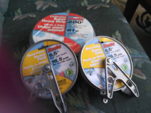 New Super Heavy Duty Clothesline & Pulleys (Sussex)