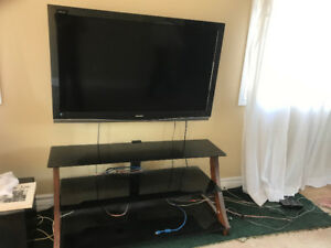 """50"""" Sharp tv with stand"""