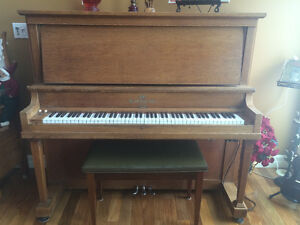 two antique pianos for sale