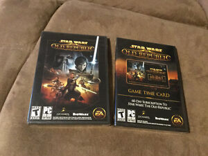 Star Wars The Old Republic Game and 60 Day Subscription $40