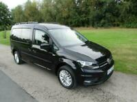 2017 Volkswagen Caddy Maxi Life 2.0 Tdi WHEELCHAIR ACCESSIBLE DISABLED VEHICLE W