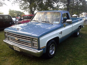 1986 CHEV 2WD P/U from USA NO RUST MAY TRADE