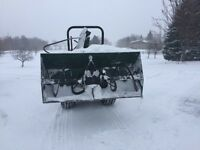 6ft snowblower to trade for drag behind snowblower
