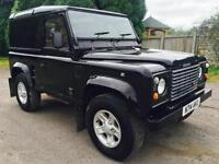 1995 Land Rover Defender 90 300Tdi County Van, Black 104,000 Miles