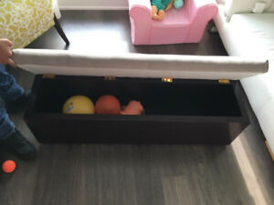 STORAGE BENCH / OTTOMAN / TOY BOX - FREE DELIVERY!